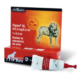 Fiprex pies XL od 40 do 55kg