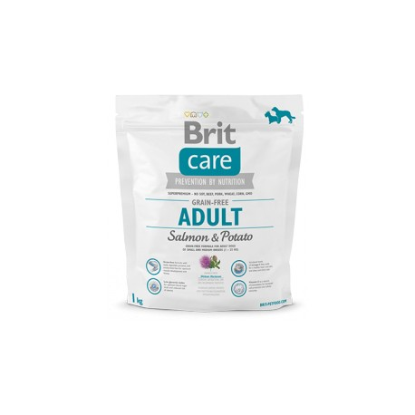 BRIT CARE Adult Medium Breed Salmon Potato 1KG